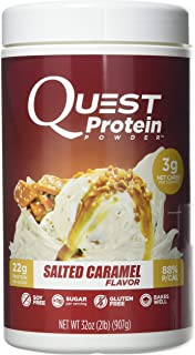 Quest Nutrition Salted Caramel Protein Powder, High Protein, Low Carb, Gluten Free, Soy Free, 32 Ounce (Pack of 1)