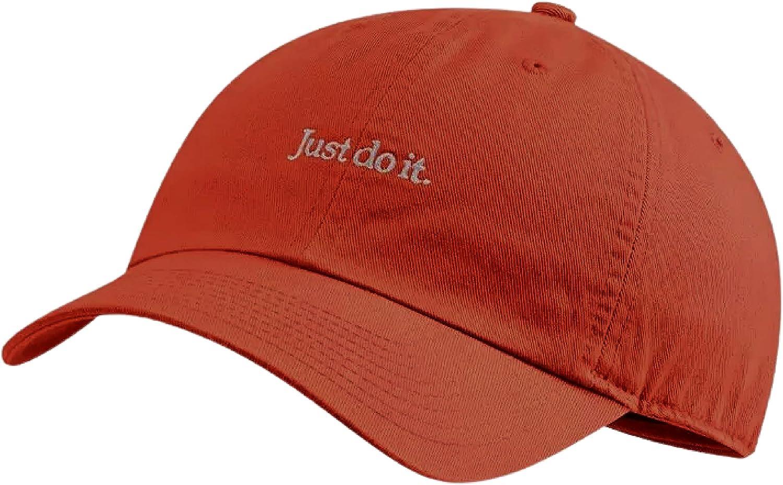 Nike Unisex Heritage 86 JDI Adjustable Baseball Cap Hat Adult Orange