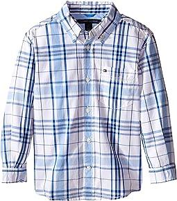 Tommy Hilfiger Kids - Long Sleeve Ethan Shirt (Toddler/Little Kids)
