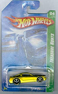 Hot Wheels Ford Mustang GT Gold 2008 Treasure Hunt Series 1:64th Scale Die Cast Collectible Car