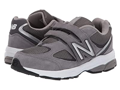 New Balance Kids PO888v2 (Little Kid) (Dark Grey/Grey) Boys Shoes