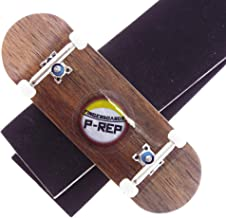 P-REP Solid Performance Complete Wooden Fingerboard 32mm x 100mm Natural (Ebony)