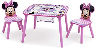 Delta Children Disney Table & Chair Set with Storage, Minnie Mouse, Piece of 1