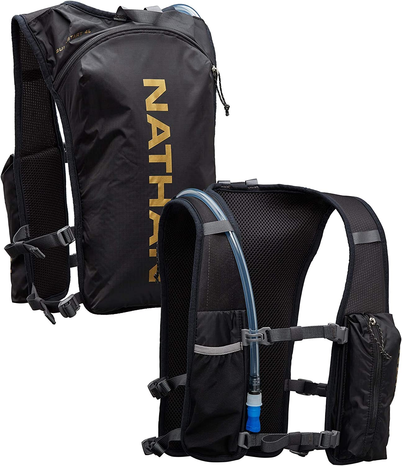 Raleigh Mall Nathan QuickStart Hydration Pack Arlington Mall Running 4L Vest. with Storage 1