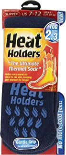 Heat Holders Mens Slipper Heat Holders, Deep Blue, US Shoe Size 7-12, 1 Pair