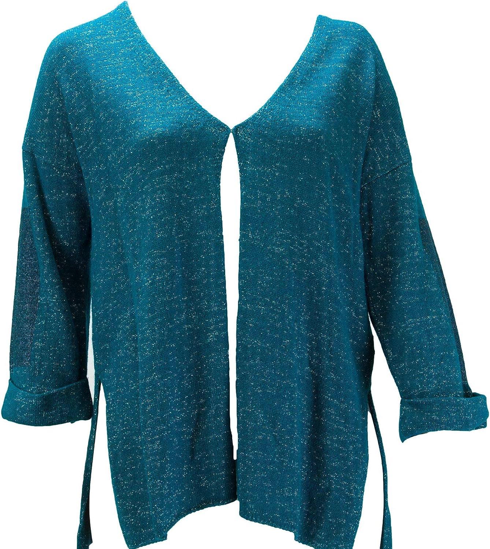 Marina Rinaldi Women's Medioevo Shimmer Cardigan