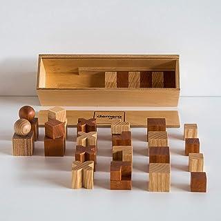 Pezzi degli scacchi Bauhaus
