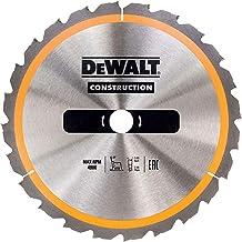DeWalt DT1961 Bouwcirkelzaagblad voor stationaire zagen/cirkelzaagblad (315/30 mm 24WZ, voor snelle snijden)