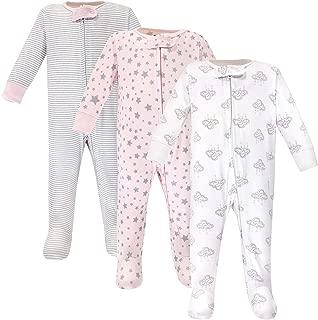 Hudson Baby Baby Girls' Zipper Sleep N Play