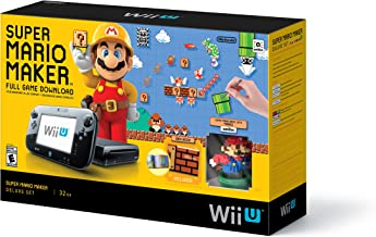 Super Mario Maker Console Deluxe Set - Nintendo Wii U (Canada Import)