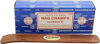 govinda Satya Bangalore (BNG) Nag Champa Argarbatti 250 Grams with Incense Holder