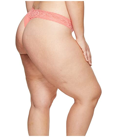 Hanky Peachy Original Thong Lace Signature Rise Panky Keen Plus Size 6U8av6r