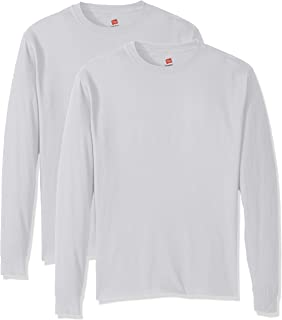 Hanes Men's ComfortSoft Long-Sleeve T-Shirt (Pack of 2)