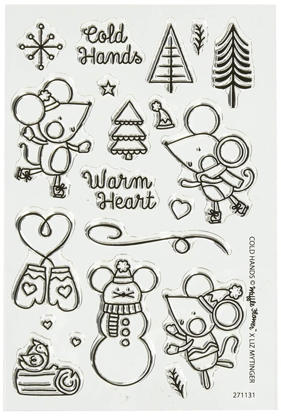 Waffle Flower Crafts Cold Hands Clear Stamps 4