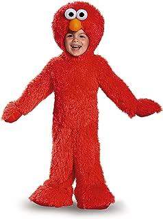 Sesame Street Elmo Extra Deluxe Plush Costume for Toddler