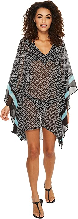 MICHAEL Michael Kors - Rope Geo V-Neck Cover-Up Tunic
