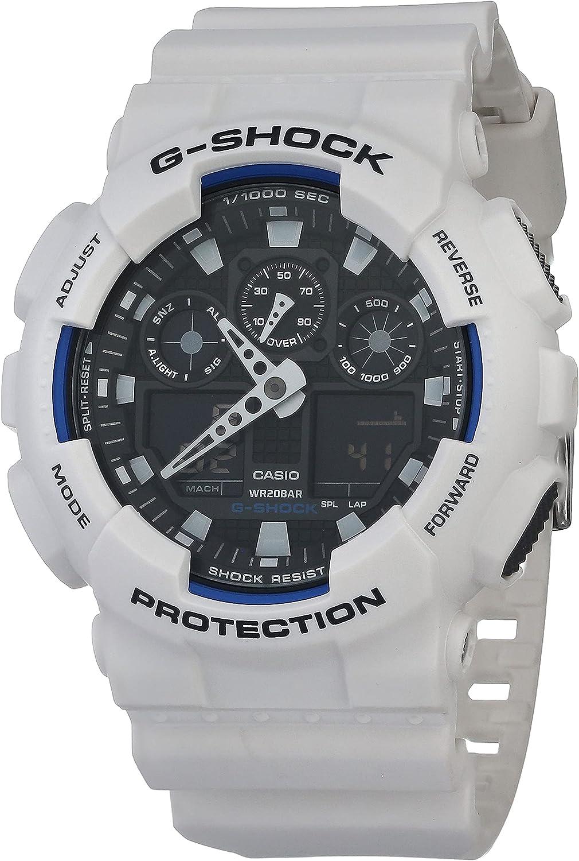 Ranking integrated 1st 2021new shipping free shipping place Casio Men's GA-100 XL Series G-Shock WR 200M Resist Shock Quartz