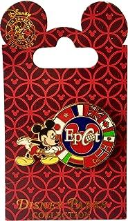 Disney Pin - Mickey with Epcot Circle of Flags - Pin 3414