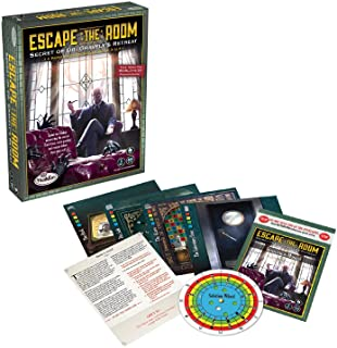 ThinkFun Escape The Room: Secret of Dr Gravely's Retreat,Family Games