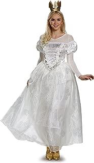 Women's Alice White Queen Deluxe Costume