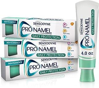 Sensodyne Pronamel Daily Protection Enamel Toothpaste for Sensitive Teeth, to Reharden and Strengthen Enamel, Mint Essence...