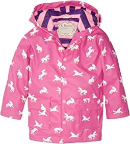 Color Changing Unicorn Silhouettes Raincoat (Toddler/Little Kids/Big Kids)