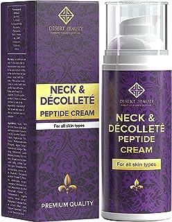کرم تقویت کننده گردن، مرطوب کننده ضد پیری برای گردن و Décolleté (3.38 اونس / 100 میلی لیتر بطری بزرگ) | سلول های پیشرفته سلول + کلاژن فرمول برای تکان دادن و بلند کردن پوست Sagging توسط کویر زیبایی