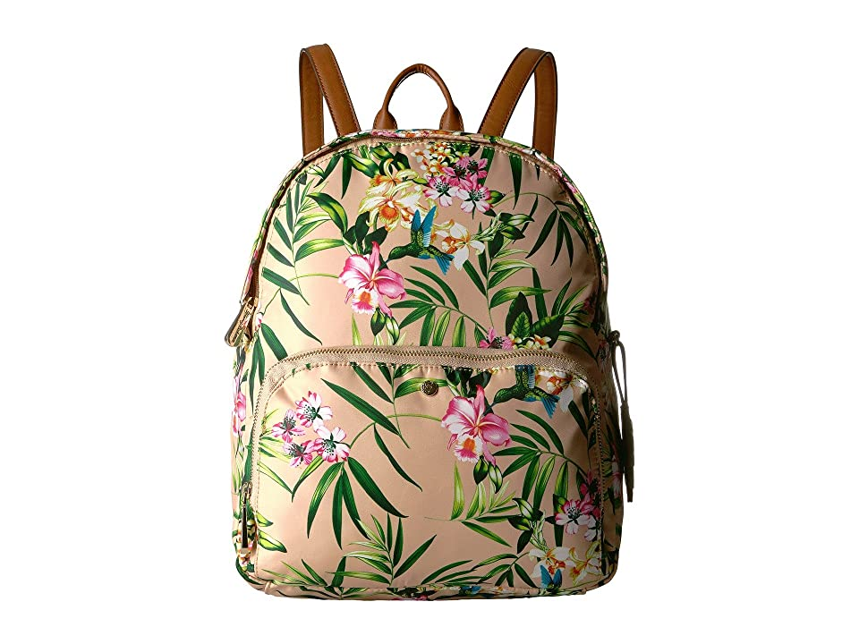 Tommy Bahama Siesta Key Zip Backpack (Striped Palms of Paradise) Backpack Bags