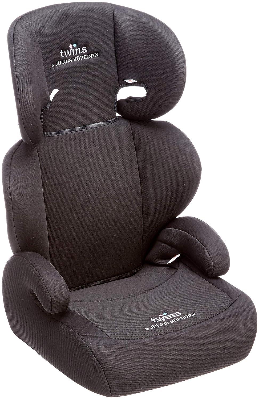 Twins Kindersitz Mit Verstellbarer Kopfstütze Und Rückenlehne Gruppe 2 3 15 36 Kg Ab 3 5 Bis 12 Jahre Schwarz Baby