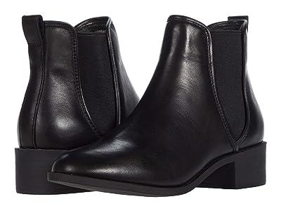 Steve Madden Dares Boot (Black Leather) Women