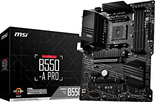 MSI B550-A Pro Am4 Ddr4 4400(Oc) Hdmi Dp M.2 Usb3.2 Atx