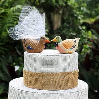Best mallard duck wedding cake topper Reviews