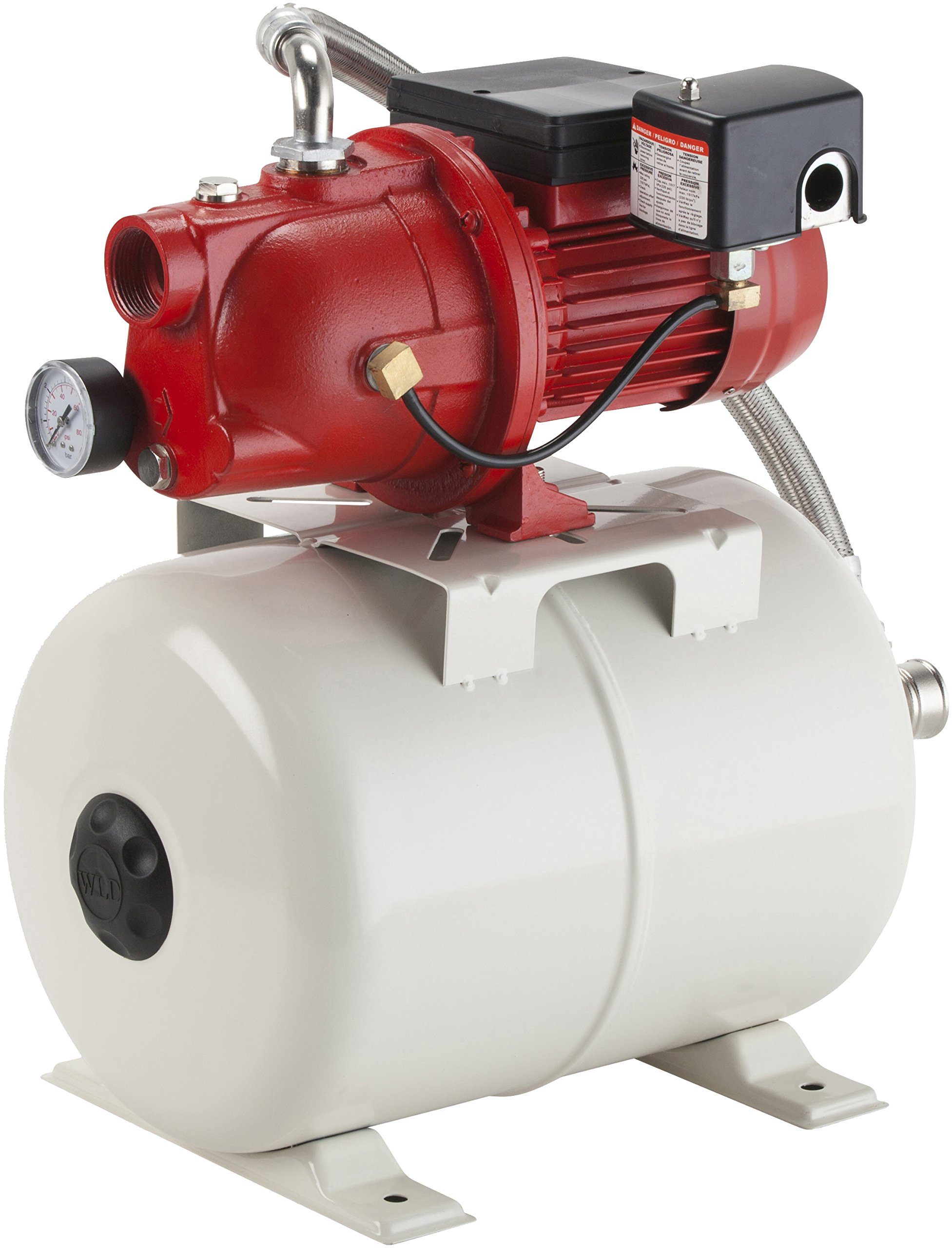 shallow well pumps amazon comred lion 97080503 shallow well jet pump and tank package, cast iron pump with pressure