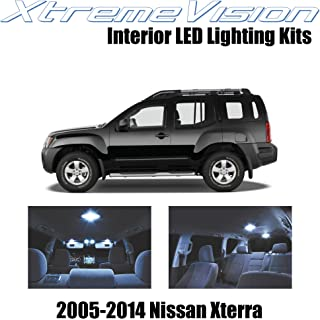 Xtremevision Interior LED for Nissan Xterra 2005-2014 (8 Pieces) Cool White Interior LED Kit + Installation Tool