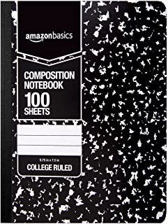 what is a college ruled composition notebook