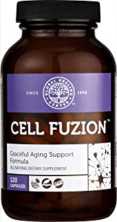 Global Healing Cell Fuzion Advanced Antioxidant Formula Supplement with Trans Resveratrol & Organic Astraga...