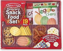 Melissa & Doug Store & Serve Snack Food Set Play