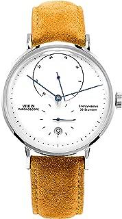 Men's Watches Calf Leather Watch Men's Mechanical Automatic Watch WIKIN Waterproof Calendar Watch