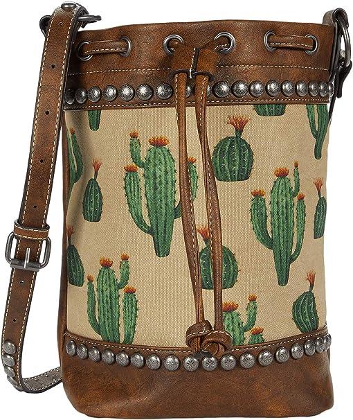 Brown/Cream/Cactus
