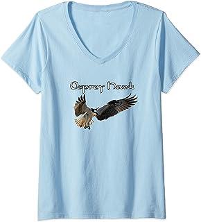 Osprey Hawk V-Neck T-Shirt