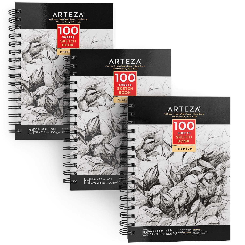 ARTEZA 5 5X8 5 Sketch Durable Drawing