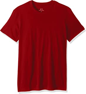 Armani Exchange T-Shirts For Men, Red (8NZT74ZJA5Z1435-1435-M - M)