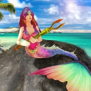 Mermaid Simulator 3D - Sea Animal Attack Games