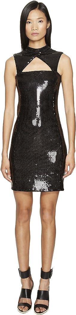 Little Sequin Black Dress