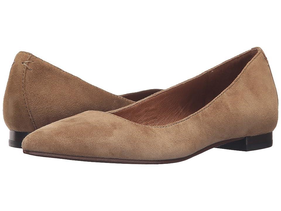 Frye Sienna Ballet (Cashew Suede) Women