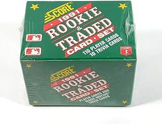 1991 score rookie baseball cards