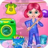 pulizie di casa pulire casa : giochi e attività di pulizia in questo gioco per i bambini e le bambine - GRATIS