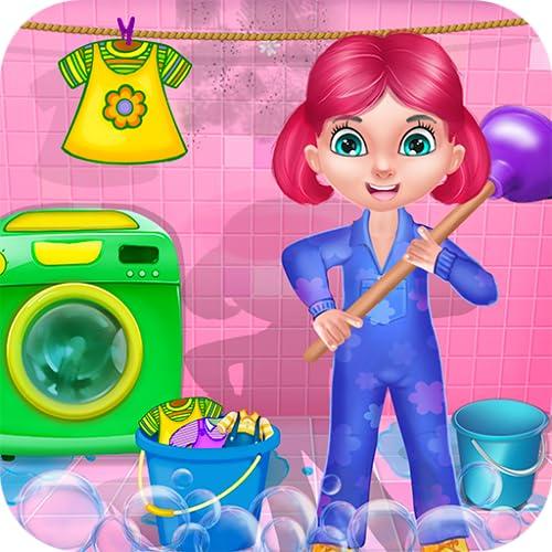 Hausputz aufzuräumen Haus : Spiele und Aktivitäten in diesem Spiel für Kinder und Mädchen Reinigung - KOSTENLOS