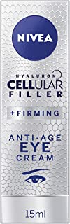 NIVEA Cellular Filler + Firming Anti-Age Moisturising Eye Cream with Hyaluronic Acid, Magnolia Extract & Creatine 15ml