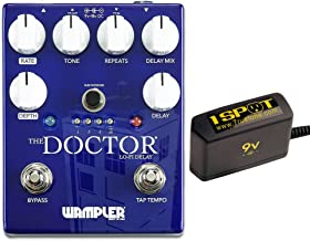 Wampler The Doctor Lo-Fi Delay Bundle w/Truetone 1 Spot Space Sacing 9v Adapter